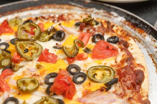 Mexican Meltdown Pizza