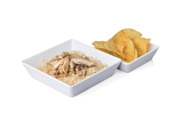 Chicken + Queso Rice Bowl
