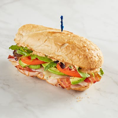 Smoky Pepper Jack Turkey Sandwich