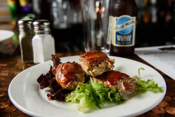 Bacon-Wrapped Quail Breast