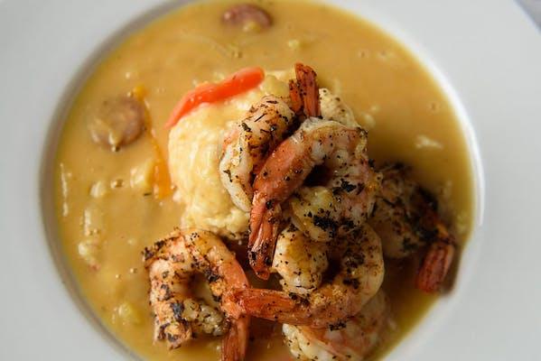 Cajun-Style Shrimp & Grits