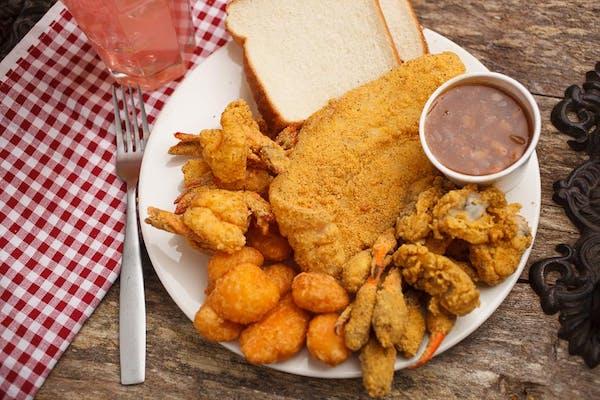 Seafood Combo Plate