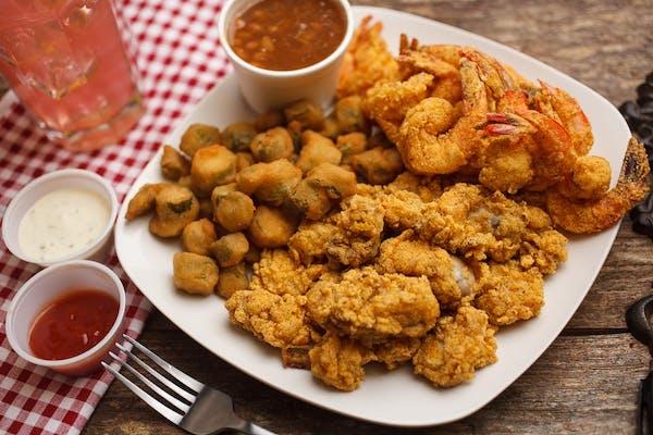 Oyster & Shrimp Plate