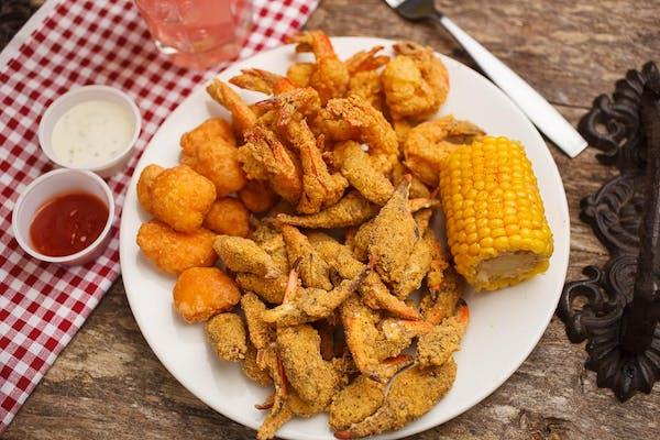 Crab Claw & Shrimp Plate