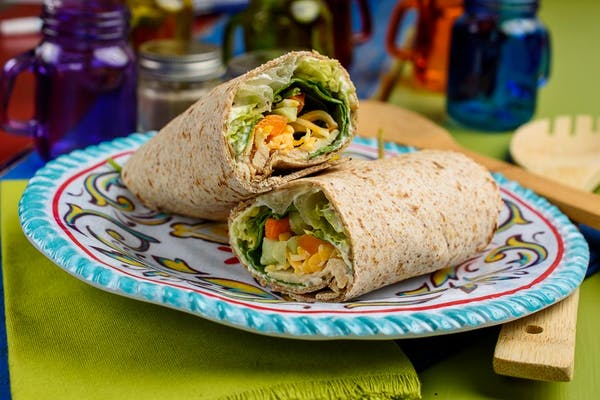 Lite Chicken Wrap