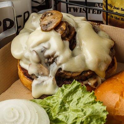 Lots-A-Shroom Burger