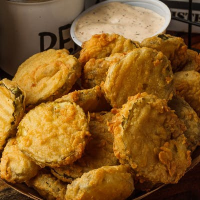 Quincy's Fried Pickles
