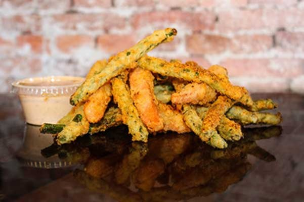 Fried Green Beans N' Carrots