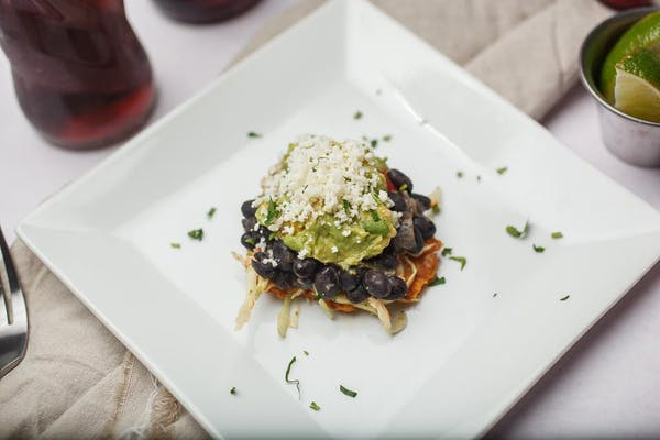 Black Bean Tostones