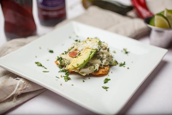 Chicken Salad Tostones