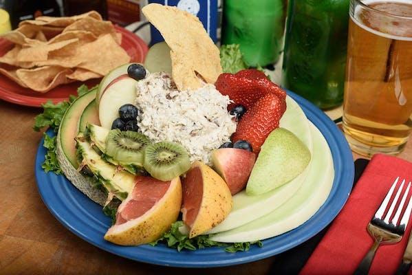 Chopped Chicken Salad & Fresh Fruit