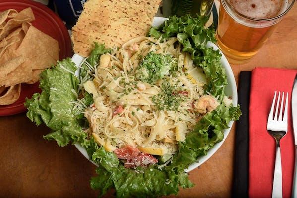 Grilled Shrimp & Pasta Salad