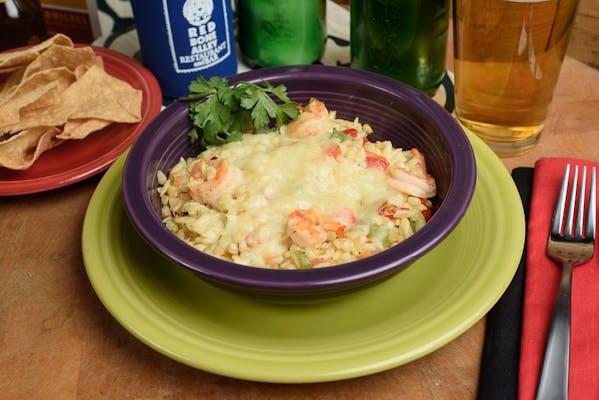Shrimp & Orzo Maque Choux