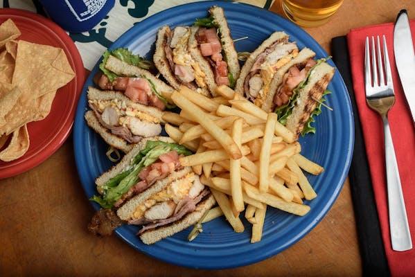 Four-Corner Club Sandwich