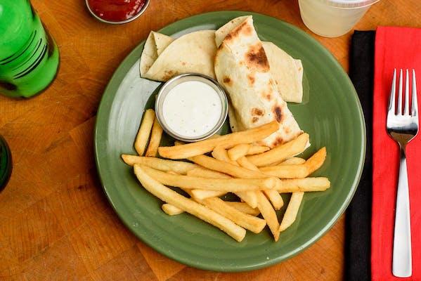 Kid's Grilled Chicken & Ranch Wrap