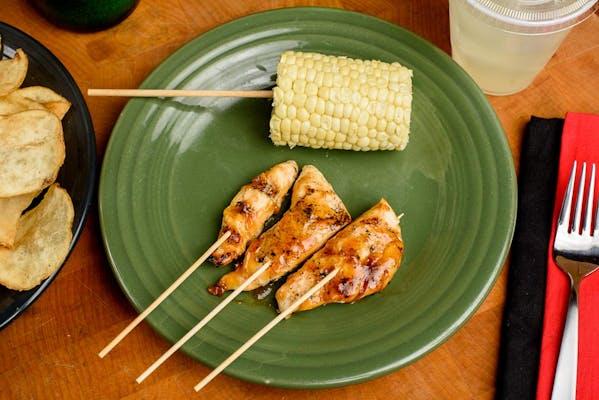 Kid's Teriyaki Chicken on a Stick