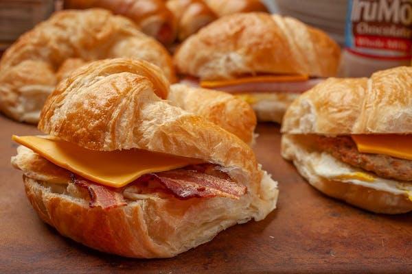 Bacon, Egg & Cheese Croissants