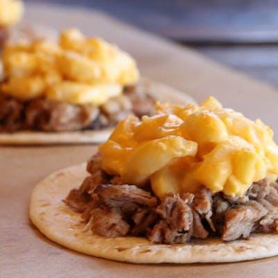 Beefy Mac Taco