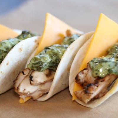 Chicken Spinach Taco