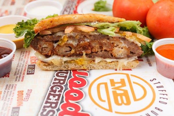 Stuffed Shrimp Burger
