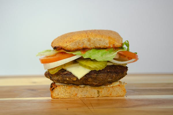 Cajun Kick Burger