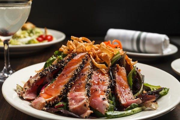 Sesame Crusted Tuna Salad
