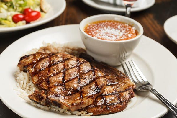 Lunch Les Pork Chops