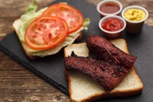 Beef Sausage Sandwich