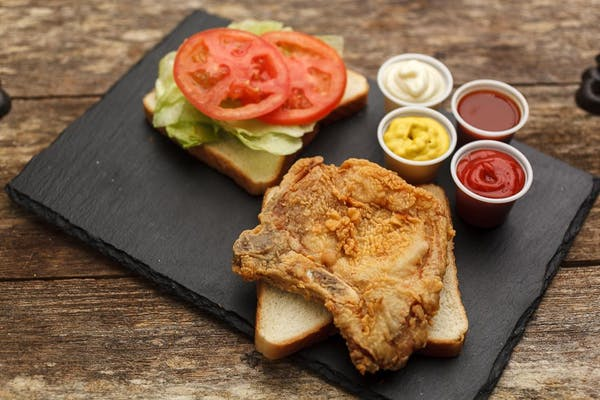Pork Chop Sandwich