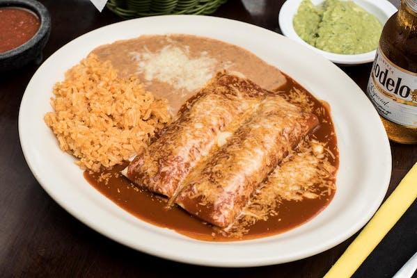 38. Enchiladas Degollado