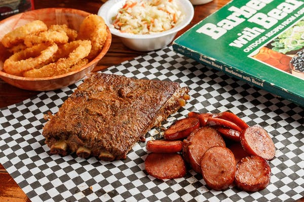 Double BBQ Plate