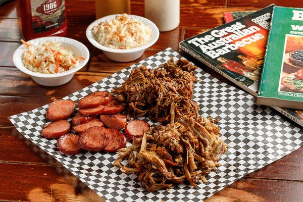 Wholly Cow BBQ Plate