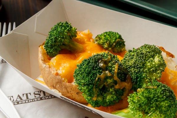 Broccoli & Cheese Potato