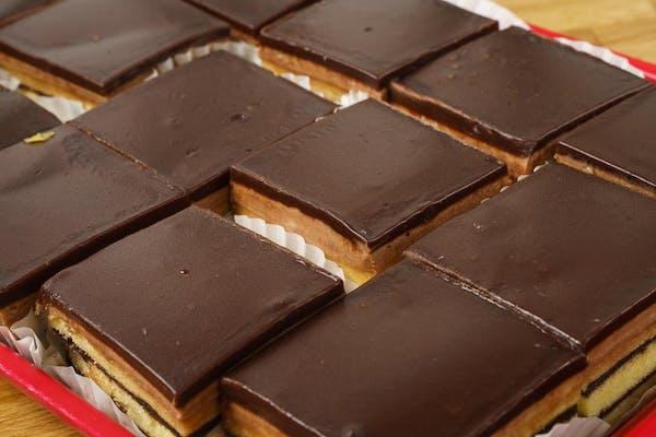 Chocolate Doberge Square