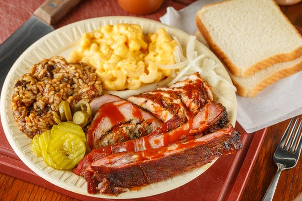 Three-Meat Plate