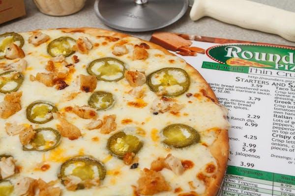 """""""Jeremy"""" Chicken Pizza"""