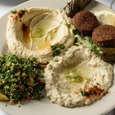 Combination Vegetarian Plate