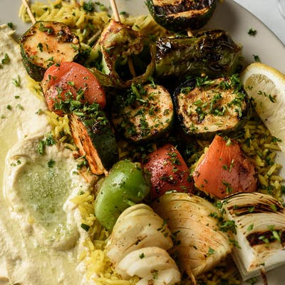 Grilled Vegetable Plate