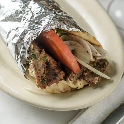 Lula Kabob Sandwich