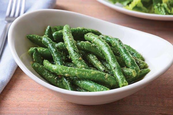 Side Garlicky Green Beans