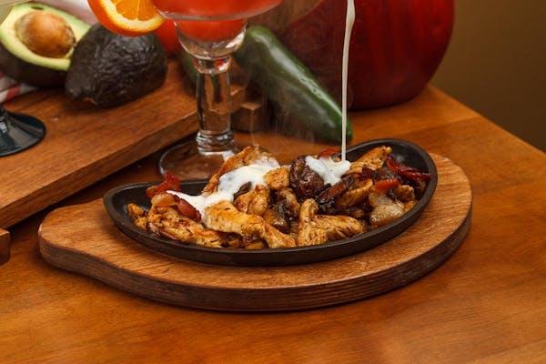 Chicken N' Mushroom Fajitas