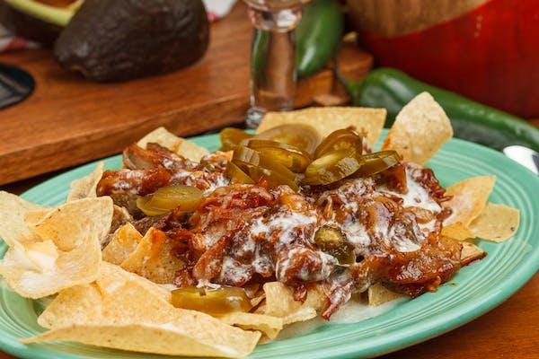 Mexican Style BBQ Nachos