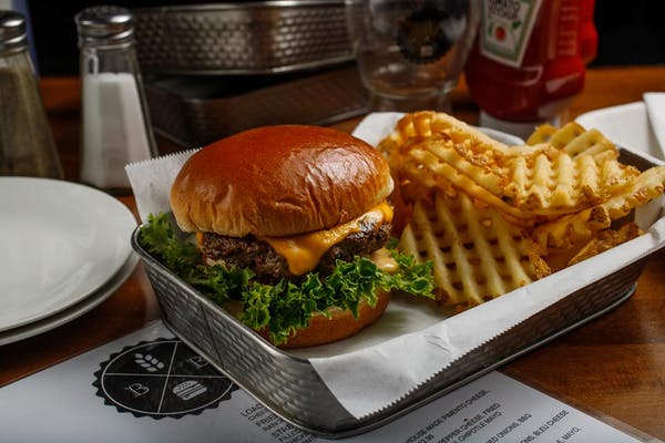Rocky Balboa Burger
