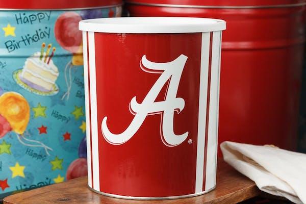 "Alabama ""Roll Tide"" Popcorn Tin"