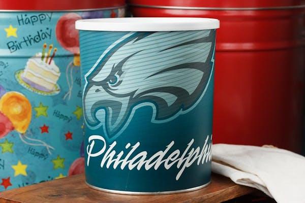 Philadelphia Eagles Popcorn Tin