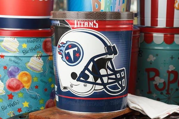 Tennessee Titans Popcorn Tin