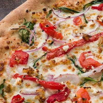 """(8"""") Half Signature / Half Signature Pizza"""