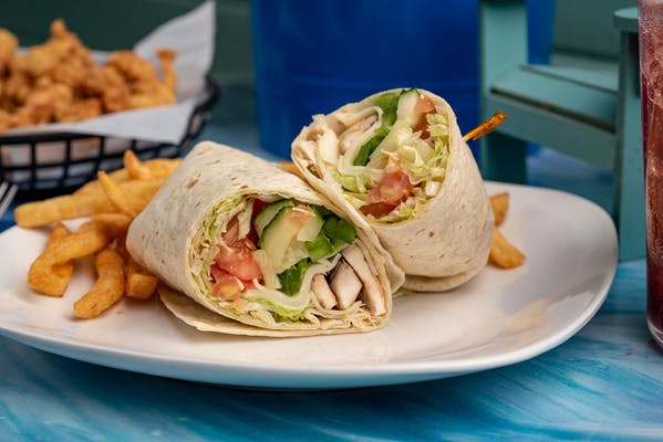 The Wharley Veggie Wrap