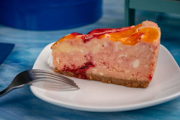Strawberry Mango Cheesecake