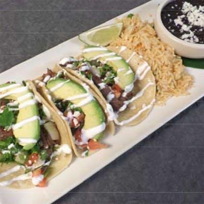 Tacos de Fajita (Lunch)
